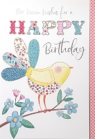 1017 - $3.99 Retail Each - Birthday General Our Wishes Greeting Card - PKD 6