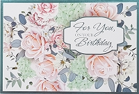 1018 - $3.99 Retail Each - Birthday General Greeting Card - PKD 6