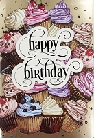 1133 - $4.99 Retail Each - Birthday General Greeting Card - PKD 3