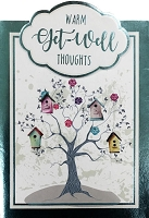 5067A- $5.99 Retail Each - Get Well Cute Greeting Cards - PKD 3