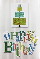 1135 - $5.99 Retail Each - Birthday General Greeting Card - PKD 3