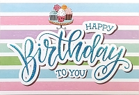 1138 - $4.99 Retail Each - Birthday General Greeting Card - PKD 3