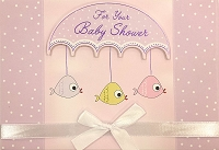 8019 - $5.99 Retail Each - Baby Shower Greeting Cards PKD 3 - Premium