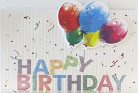 1146 - $4.99 Retail Each - Birthday General Greeting Cards PKD 3