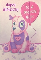 3532D - $4.99 Retail Each - Birthday Juvenile Girl PKD 3