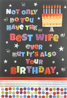 8133 - $5.99 Retail Each - Birthday Husband Humorous Greeting Cards PKD 3 - Premium