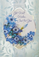 5071- $4.99 Retail Each - Get Well General Greeting Cards - PKD 3