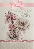 4886 - $5.99 Retail Each - Sympathy Loss of Mother Greeting Cards PKD 3 - Premium