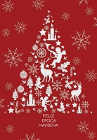 SP003 - $2.80 Retail Each - Spanish Language Christmas Greeting Cards - PKD 6