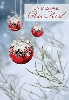 FR006 - $2.80 Retail Each - French Language Christmas Greeting Cards - PKD 6