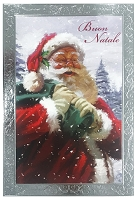 IT001 - $2.80 Retail Each - Italian Language Christmas Greeting Cards - PKD 6
