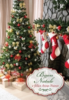 IT003 - $2.80 Retail Each - Italian Language Christmas Greeting Cards - PKD 6