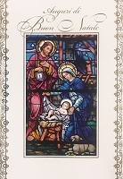 IT006 - $2.80 Retail Each - Italian Language Christmas Greeting Cards - PKD 6