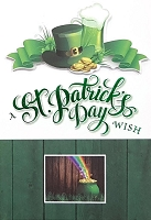 SPD017 $5.99 Retail each - premium St. Patricks Day Greeting Cards - General - wholesale units of 3 cards