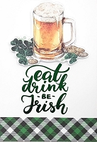 SPD018 $5.99 Retail each - premium St. Patricks Day Greeting Cards - General - wholesale units of 3 cards