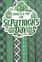 SPD019 $5.99 Retail each - premium St. Patricks Day Greeting Cards - General - wholesale units of 3 cards