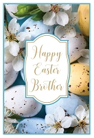 EA458 - $3.99 Retail Each - Premium Easter Brother Greeting Card PKD 3