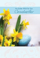 EA473 - $3.99 Retail Each - Premium Easter Grandmother Greeting Card PKD 3