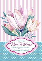 MD356 - Retail $3.99 Each - Mothers Day 1st Mother's Day Greeting Cards PKD 3 - Premium