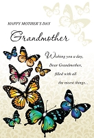 MD345 - Retail $3.99 Each - Mothers Day Grandmother Greeting Cards PKD 3 - Premium