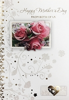 MD372 - Retail $3.99 Each - Mothers Day Mom from Both Greeting Cards PKD 3 - Premium
