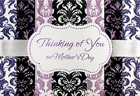 MD319 - Retail $5.99 Each - Mothers Day Thinking Of You Greeting Cards PKD 3 - Premium