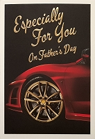 FDGC087 - $3.99 Retail Each - Fathers Day Especially For You Greeting Cards PKD 3 - Premium