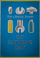 FDGC089 - $3.99 Retail Each - Fathers Day Friend Greeting Cards PKD 3 - Premium
