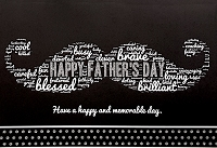 FDGC100 - $3.99 Retail Each - Fathers Day General Greeting Cards PKD 3 - Premium