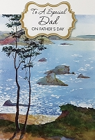 FDGC043 - $3.99 Retail Each - Fathers Day Dad Greeting Cards PKD 3 - Premium
