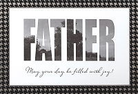 FDGC055 - $3.99 Retail Each - Fathers Day Father Greeting Cards PKD 3 - Premium