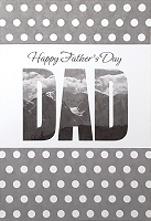 FDGC047 - $3.99 Retail Each - Fathers Day Dad Greeting Cards PKD 3 - Premium