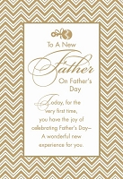 FDGC066 - $3.99 Retail Each - Fathers Day New Father Greeting Cards PKD 3 - Premium