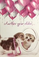 6057 - $3.99 Retail Each - Birthday Card Cute PKD 6
