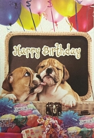 6076 - $3.99 Retail Each - Birthday Card Cute PKD 6