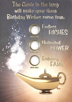 6102 - $3.49 Retail Each - Humorous Birthday Greeting Cards PKD 6