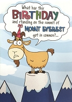 6103 - $3.49 Retail Each - Humorous Birthday Greeting Cards PKD 6