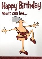 6104 - $3.49 Retail Each - Humorous Birthday Greeting Cards PKD 6
