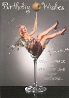 6109 - $3.49 Retail Each - Humorous Birthday Greeting Cards PKD 6