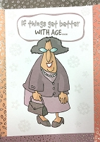 6112 - $3.49 Retail Each - Humorous Birthday Greeting Cards PKD 6