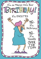 6113 - $3.49 Retail Each - Humorous Birthday Greeting Cards PKD 6