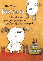 6120 - $3.49 Retail Each - Humorous Birthday Greeting Cards PKD 6