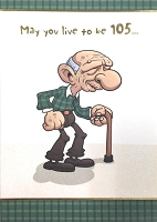 6128 - $3.49 Retail Each - Humorous Birthday Greeting Cards PKD 6