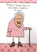 6130 - $3.49 Retail Each - Humorous Birthday Greeting Cards PKD 6