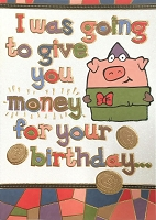 6133 - $3.49 Retail Each - Humorous Birthday Greeting Cards PKD 6