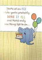 6134 - $3.49 Retail Each - Humorous Birthday Greeting Cards PKD 6