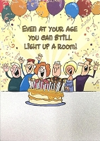 6137 - $3.49 Retail Each - Humorous Birthday Greeting Cards PKD 6