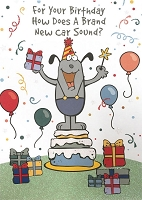 6140 - $3.49 Retail Each - Humorous Birthday Greeting Cards PKD 6