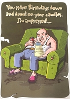 6162 - $3.49 Retail Each - Humorous Birthday Greeting Cards PKD 6