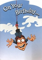 6163 - $3.49 Retail Each - Humorous Birthday Greeting Cards PKD 6